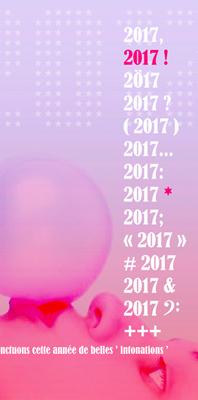 pour 2017 …